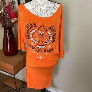 Affliction Asymmetrical Dress